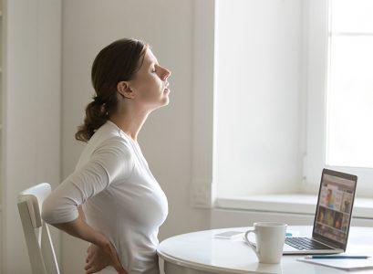 5 czynności, które odciążą kręgosłup